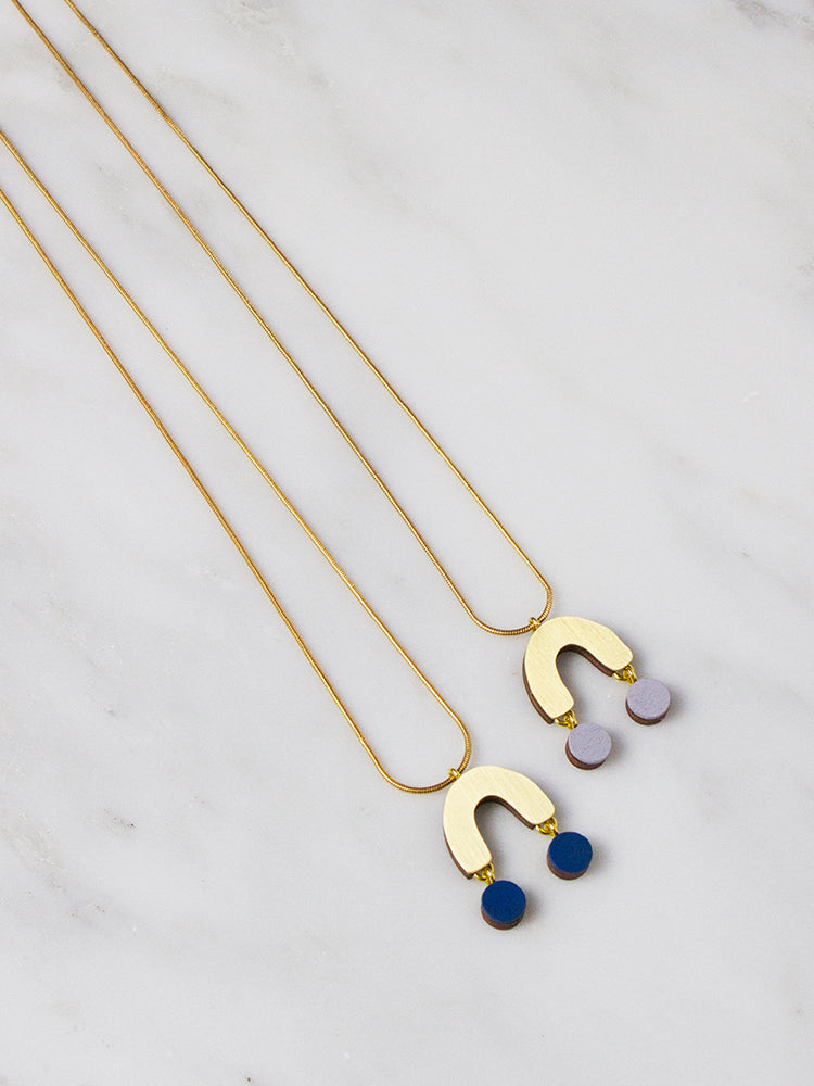 Miro Necklace by Wolf & Moon