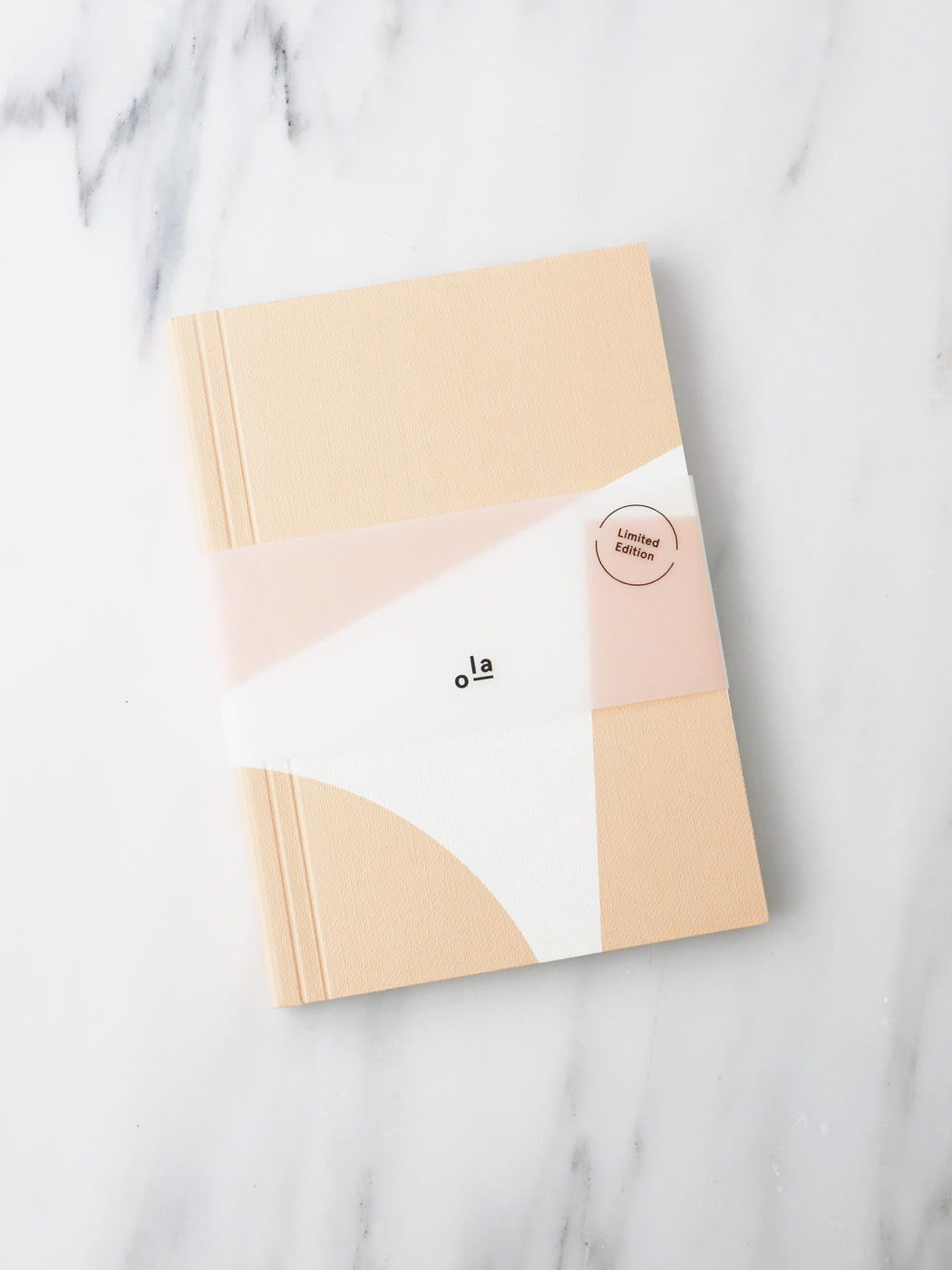 A6 Layflat Week Planner in Pink Blocks Print. Lifestyle curated by Wolf & Moon.
