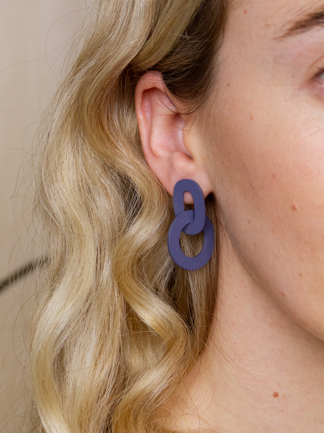 Orla I Earrings in Blueberry