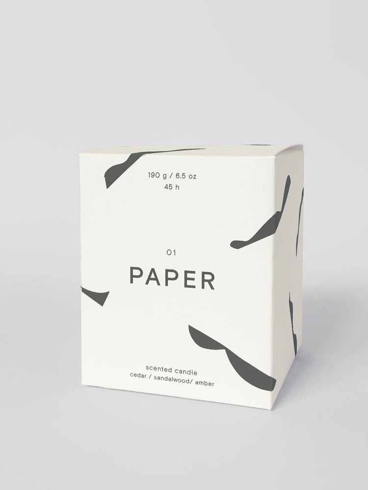 'Paper' Scented Candle