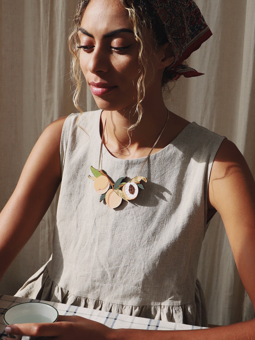 The Garden Collection | Laser-cut acrylic jewellery | Handmade in North London.