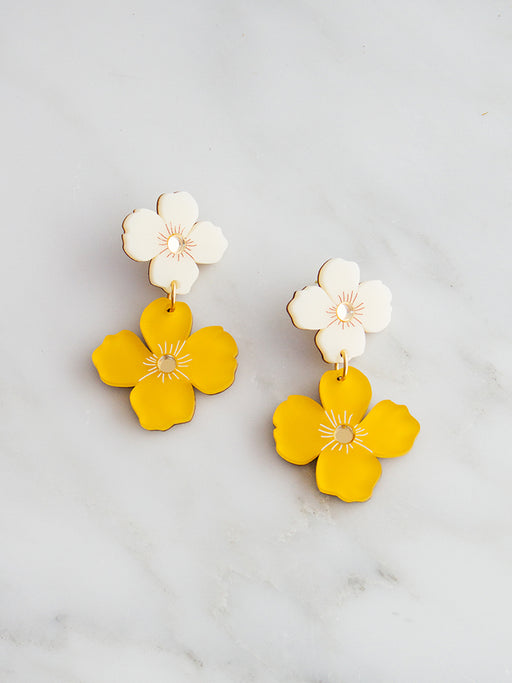 Poppy Earrings | Original statement jewellery by Wolf & Moon