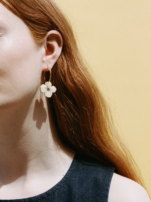 Poppy Hoops | Original statement jewellery by Wolf & Moon