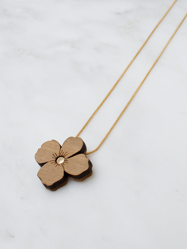 Poppy Necklace | Original statement jewellery by Wolf & Moon