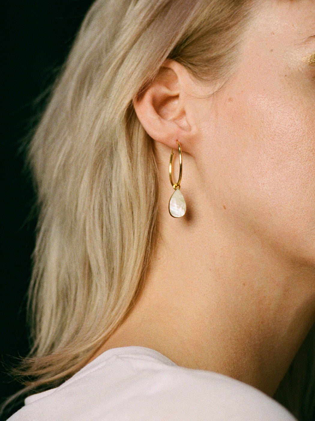 Wolf & Moon | Statement laser cut jewellery in mother of pearl | Handmade in North London.