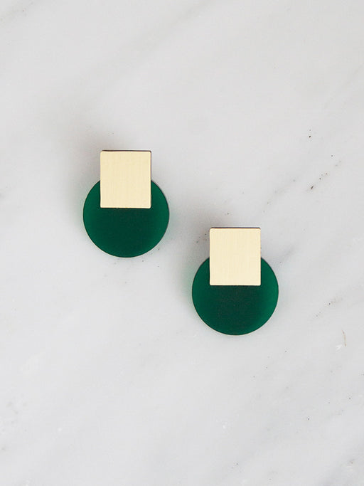Sol Studs | Original statement earrings handmade by Wolf & Moon