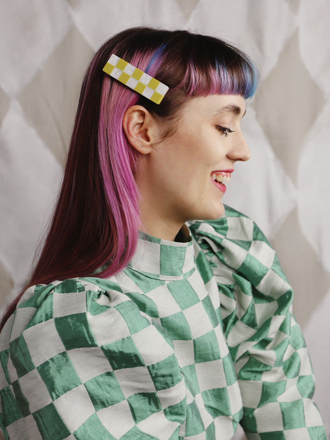 Sofia Hair Clip | Statement jewellery handmade in the U.K. by Wolf & Moon