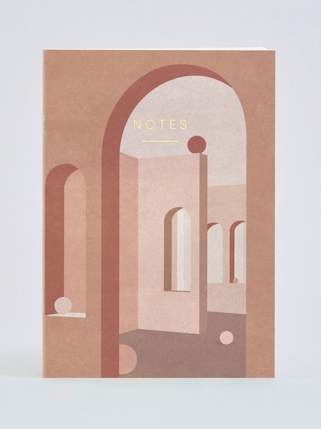 Terracotta Arches Notebook