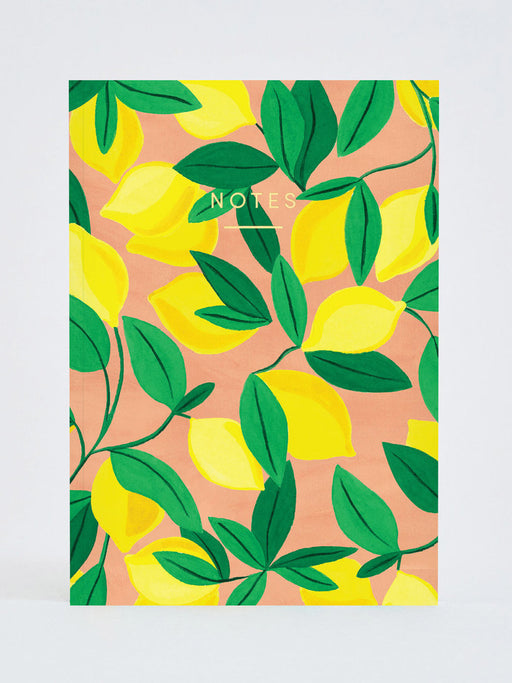 Tuscan Lemon Notebook (A5)