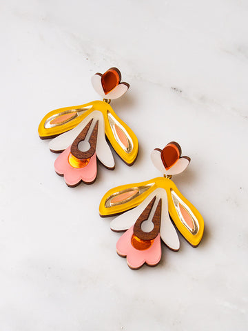 Wallpaper Earrings