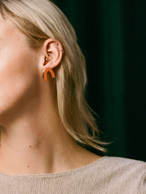 Waterfall Studs | Original statement earrings handmade by Wolf & Moon