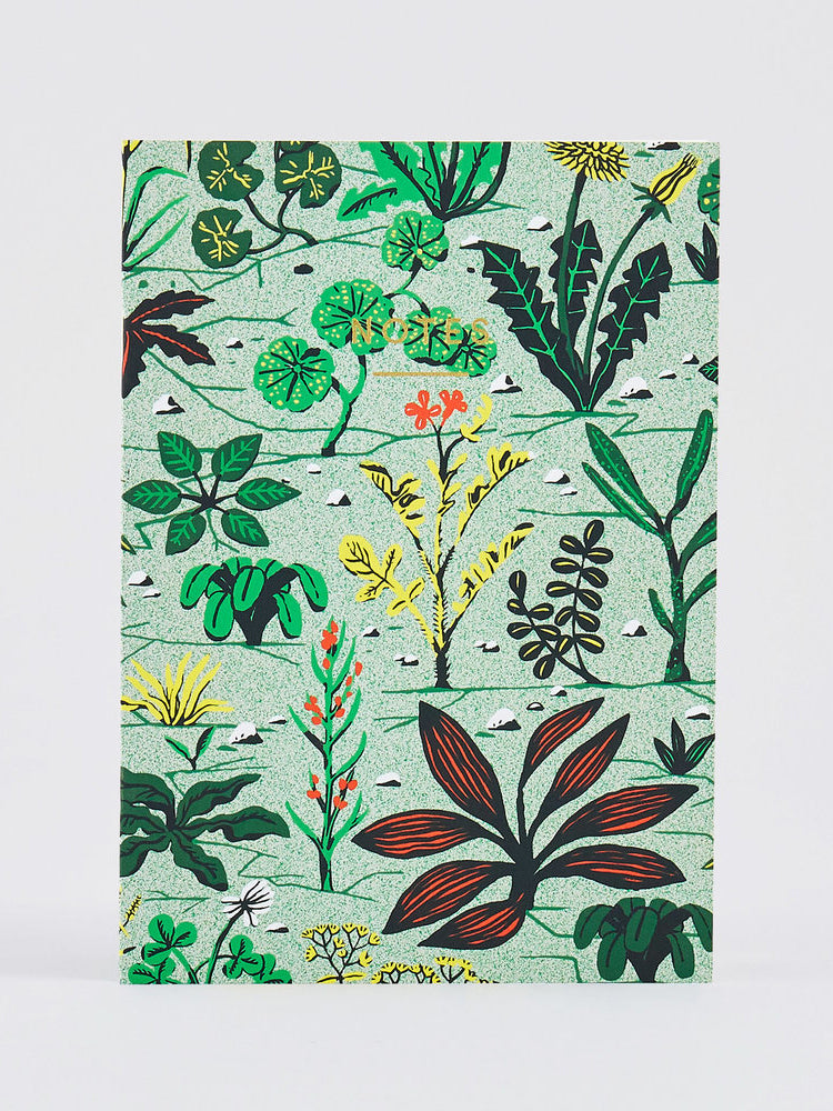 Weeds Notebook (A5)