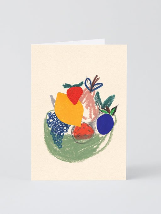 Fruit Basket Greetings Card