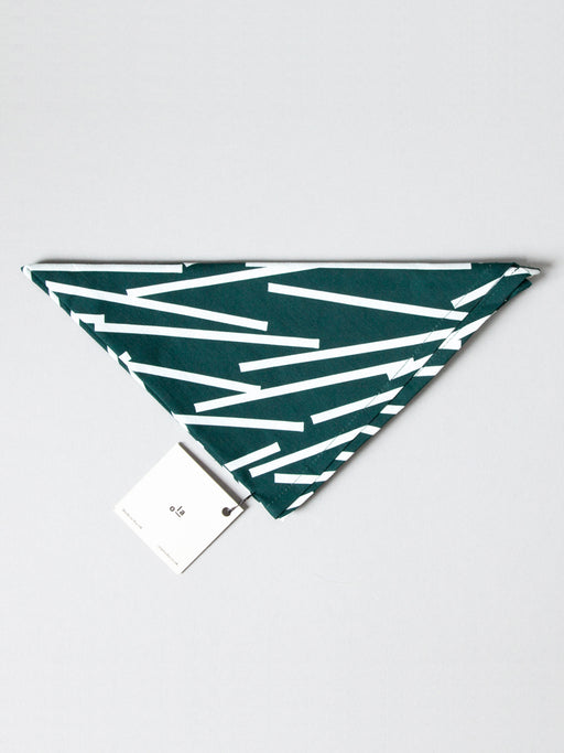 Organic Cotton Wrap in Forest Green