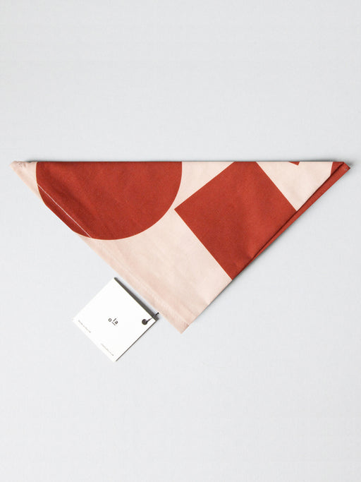 Organic Cotton Wrap in Red/Salmon