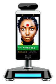 AX1 Body Temperature Scanning | Fully-Automated AI Fever Detection System Desktop Stand