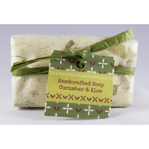 Cucumber & Aloe Handcrafted Goat's Milk Soap Bar