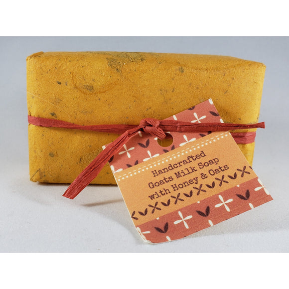 Honey & Oats Handcrafted Goat's Milk Soap Bar