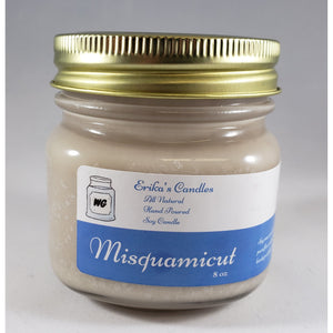 Misquamicut All Natural Hand Poured Soy Wax Mason Jar Candle