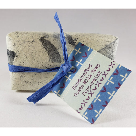 Peppermint Handcrafted Goat's Milk Soap Bar