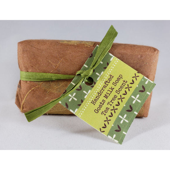 Tea Tree Handcrafted Goat's Milk Soap Bar