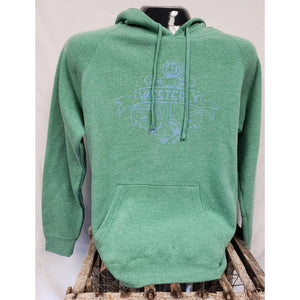 Westerly Anchor Sea Green Special Blend Unisex Pullover Hoodie