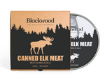 Canned elk in jelly