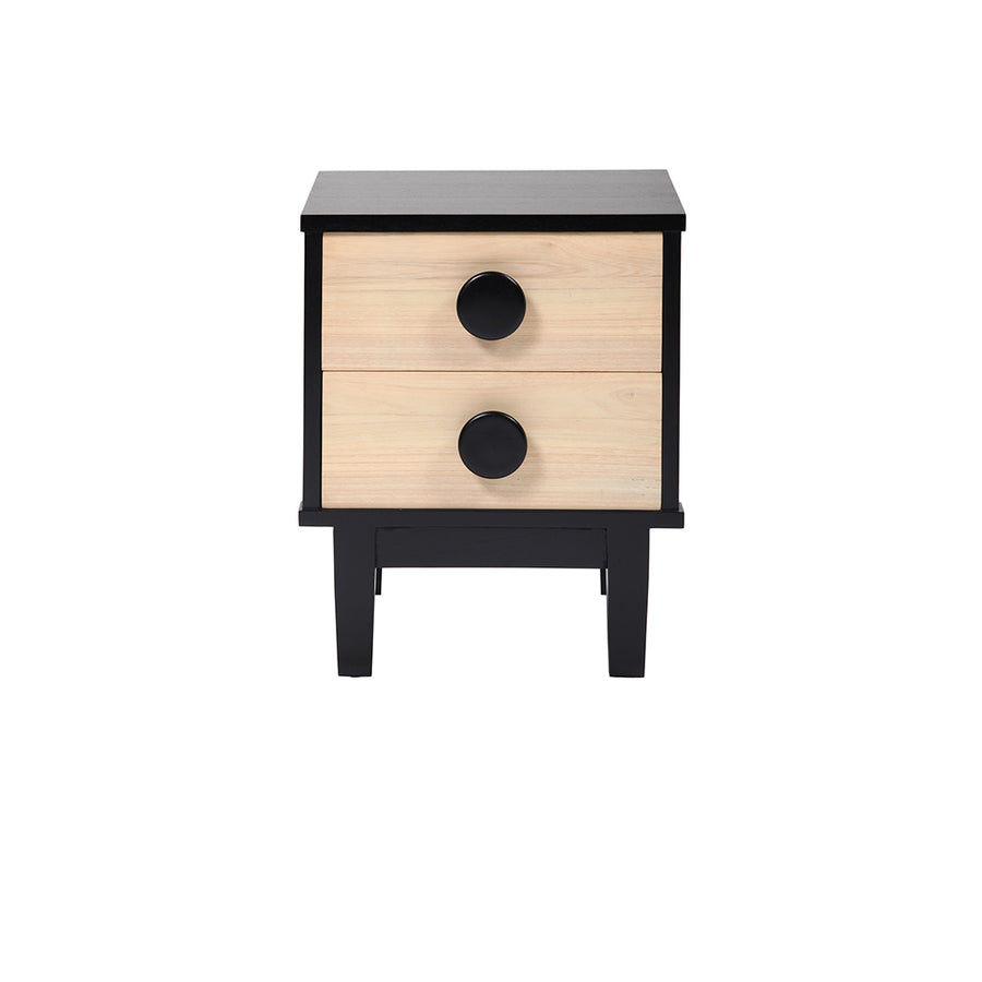 Big Button Bedside Table