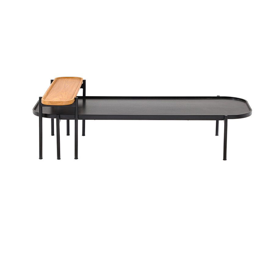 Fjord Twin Coffee Table in Black Mahogany