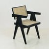 Jeanneret Dining Chair in Mahogany Blackwash