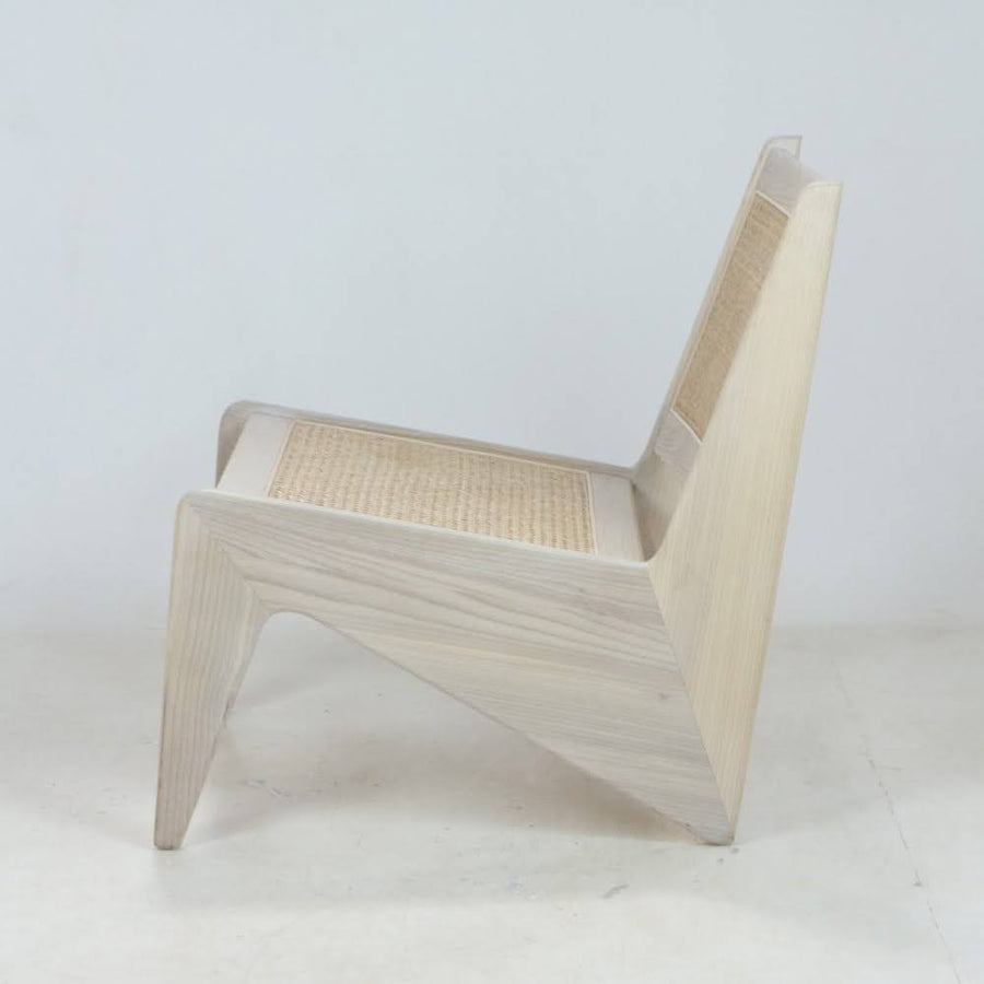Jeanneret Kangaroo Chair In Oak