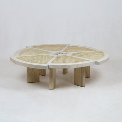 The Rio Coffee Table in Oak