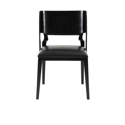 Palm Springs Dining Chair in Black Mahogany