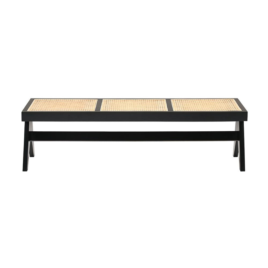 Jeanneret Bench in Black Mahogany