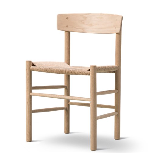 Danish Dining Chair in Oak Natural