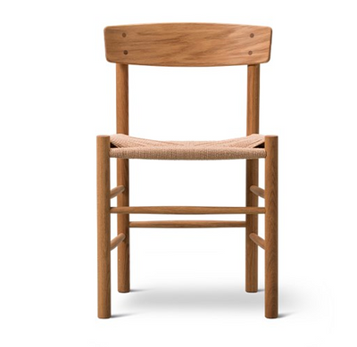 Danish Dining Chair in Teak Natural