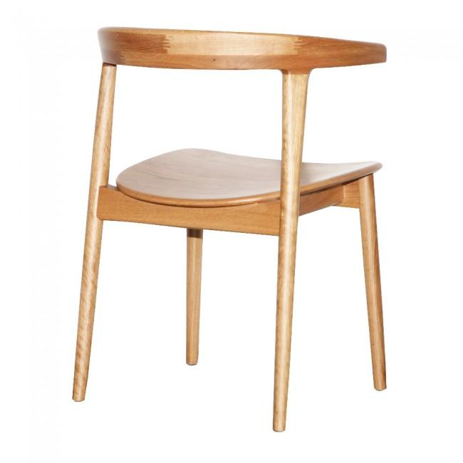 Scandinavian Dining Chair in Teak Natural