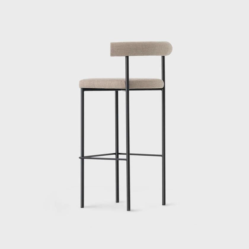 Gunmetal Sunbrella Bar Stool