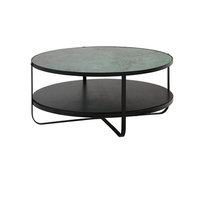 Elemental Green marble Coffee Table
