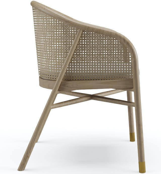 Milla Dining Chair in Oak Natural