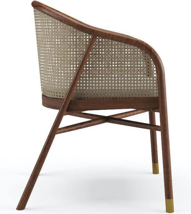 Milla Dining Chair in Teak Natural