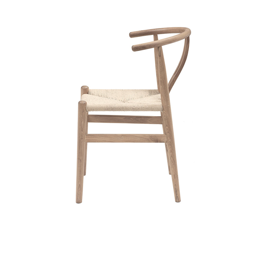 Oak Hans Wegner wishbone dining chair