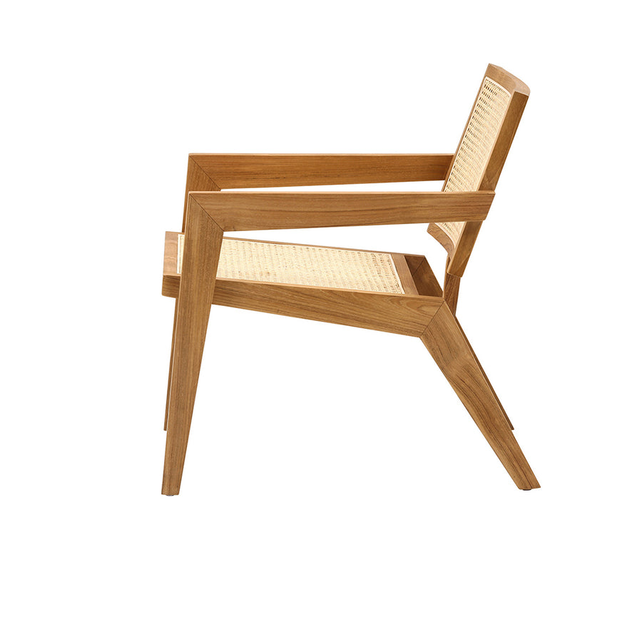 Jeanneret Easy Lounge Chair in Teak
