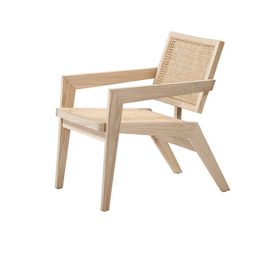 Jeanneret Easy Lounge Chair in Oak