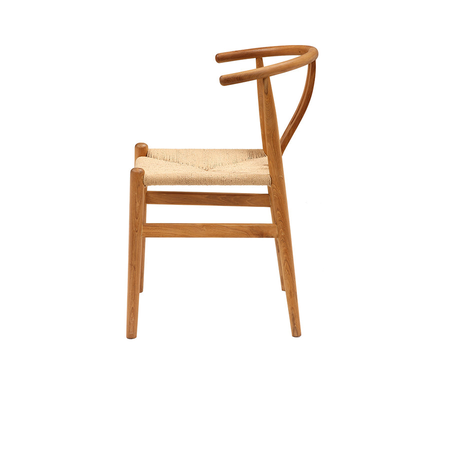 Hans Wegner Wishbone dining chair teak