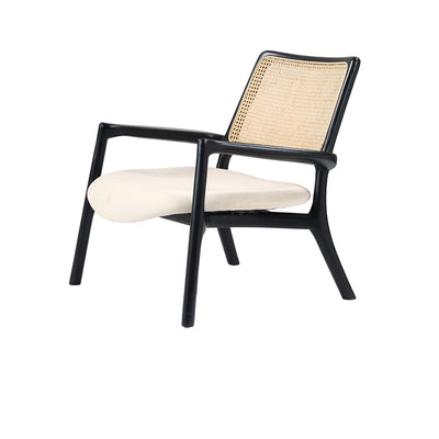 Tulip lounge chair Mahogany