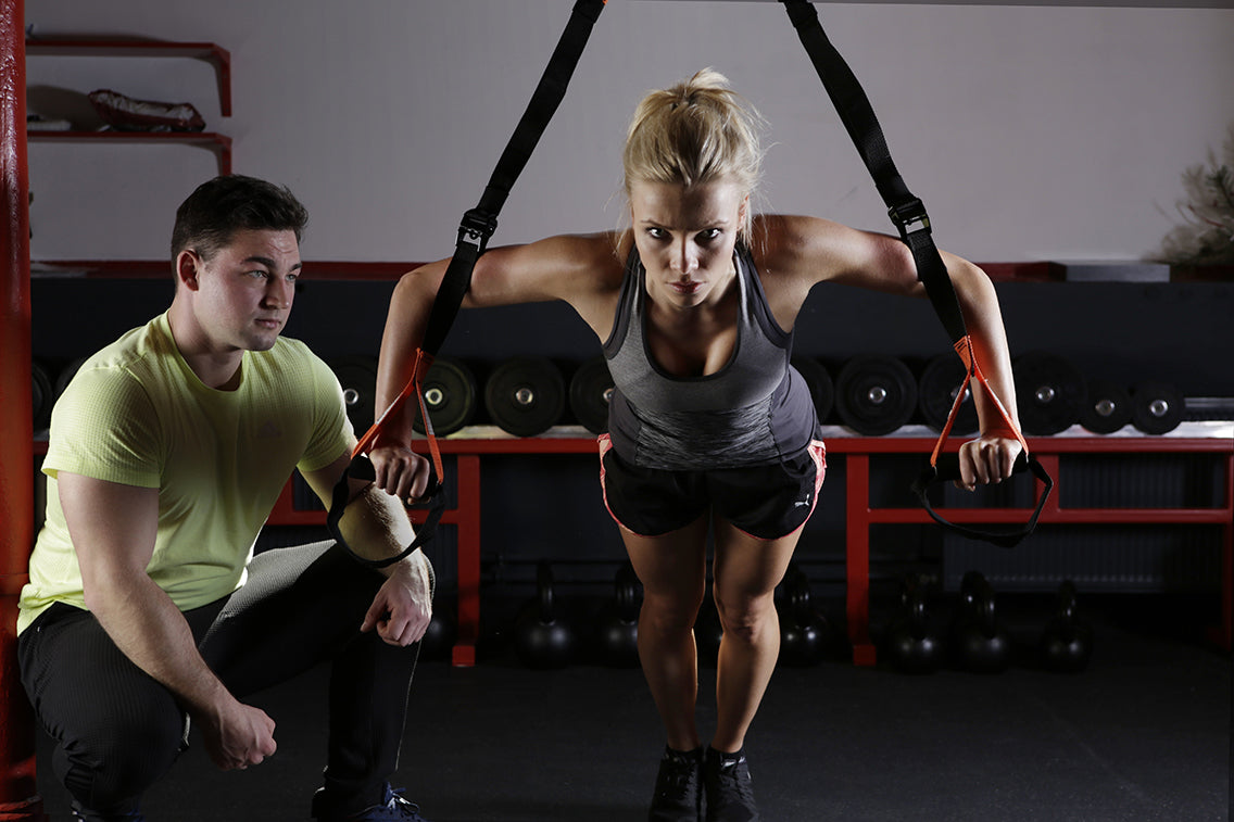 Elite Workout's Suspension Trainer Body Pump