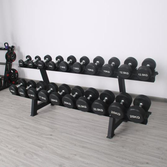 Elite Home Workout 10 Pair Dumbbell Rack - (Rack Only)