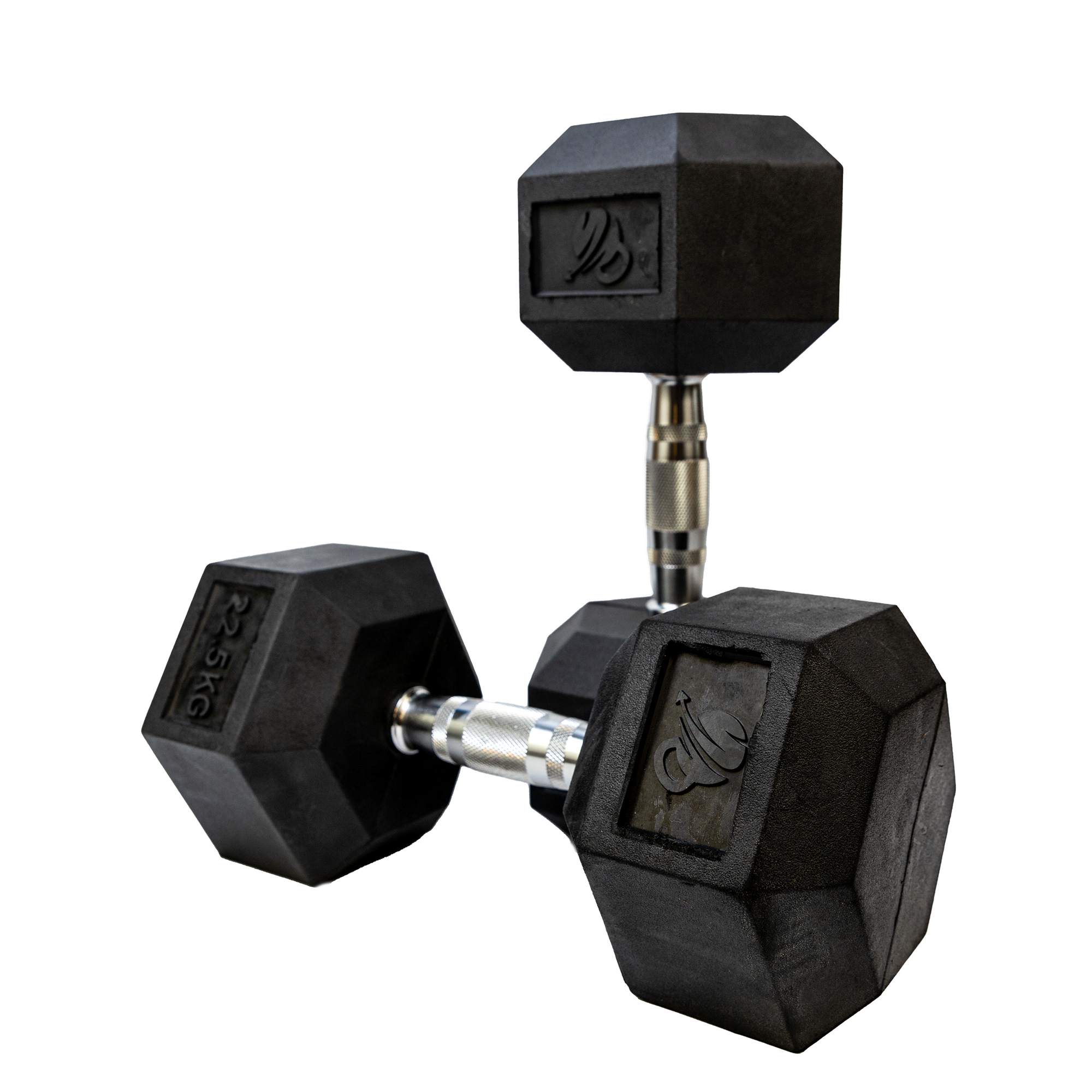 IN STOCK - Elite Home Workout 2 x 22.5KG Hex Dumbbells (Pair)