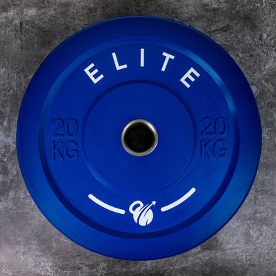 Delivery Jan 20th Onwards - Elite Home Workout 2 x 20KG Premium Olympic Bumper Plates